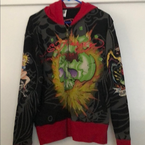 Ed Hardy Other - Men's Ed Hardy Jacket ! Small !